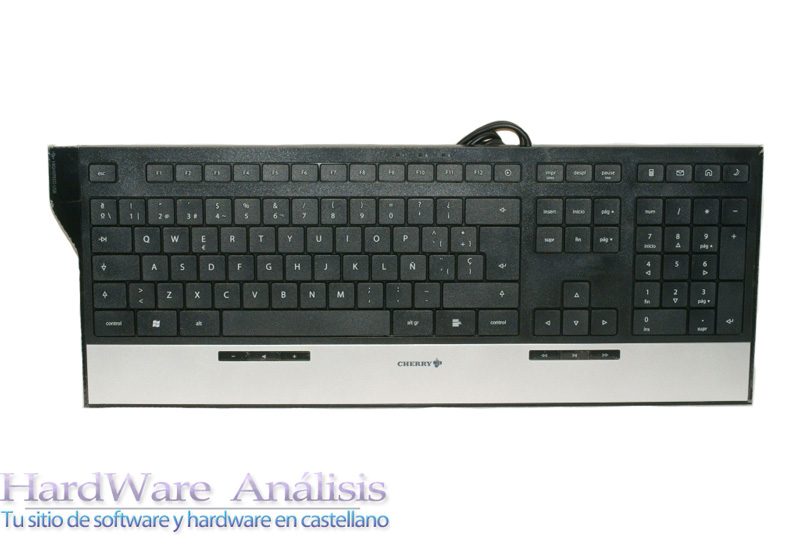 Teclado multimedia CHERRY EASYHUB